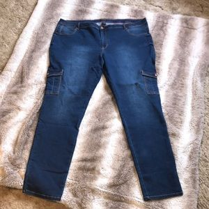 NWT Ashley Stewart cargo skinny